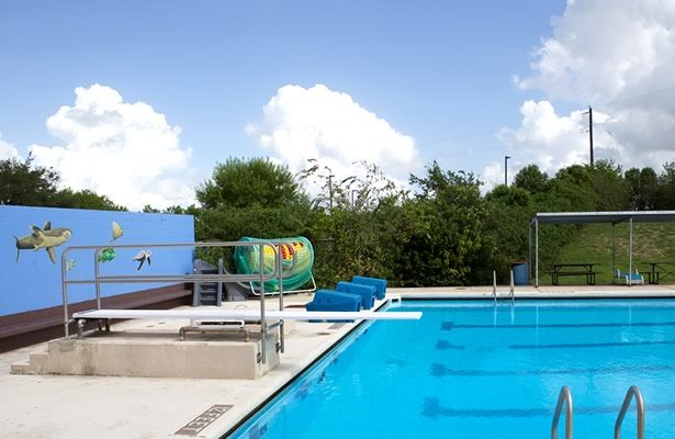 City Swimming Pool in Floresville, Texas