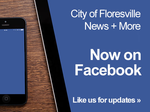 City of Floresville News + More. Now on Facebook. Like us for updates.