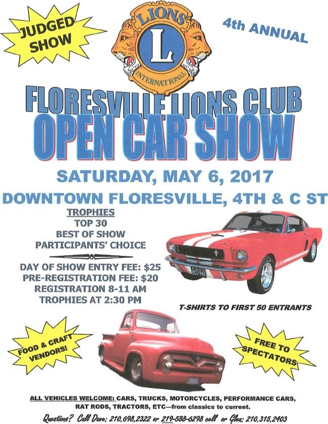 Floresville Lions Club Car Show
