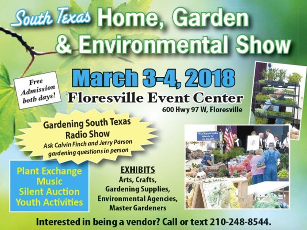 South Texas Home, Garden & Environmental Show - March 3-4, 2018 ...