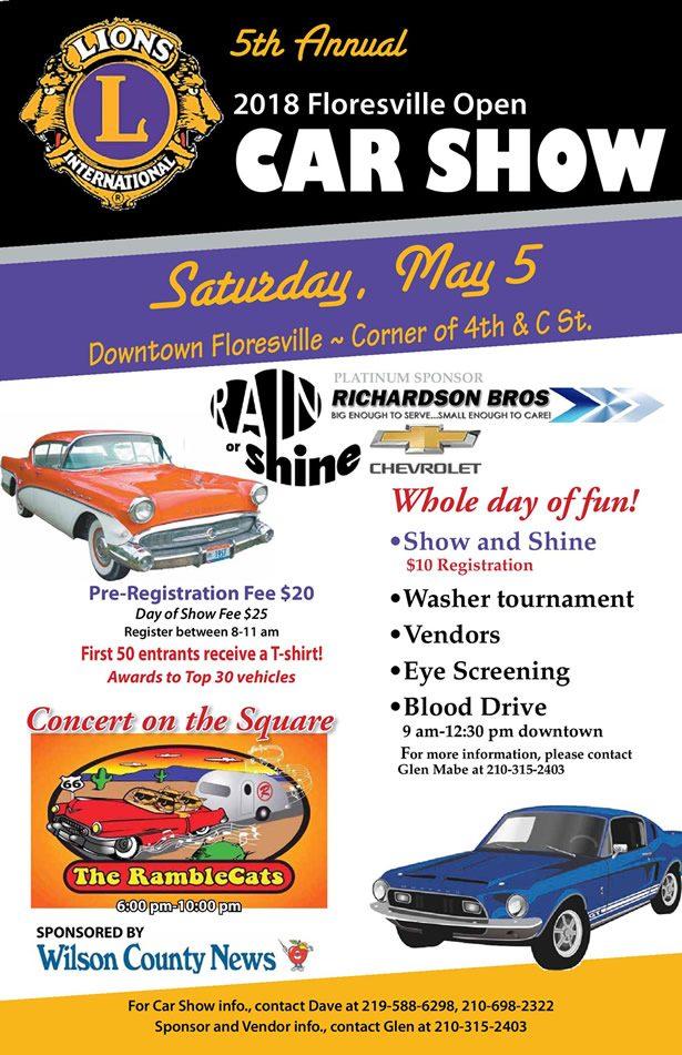 5th Annual Lions Club Car Show