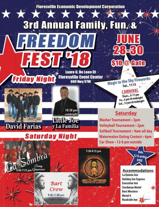 Third Annual Family Fun & Freedom Fest in Floresville, Texas