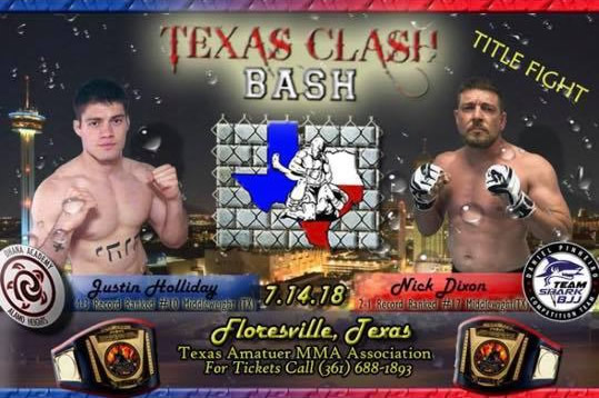 Texas Clash Bash Mixed Martial Arts (MMA) Event, July 14, 2018