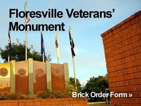 Floresville Veterans' Monument Brick Order Form