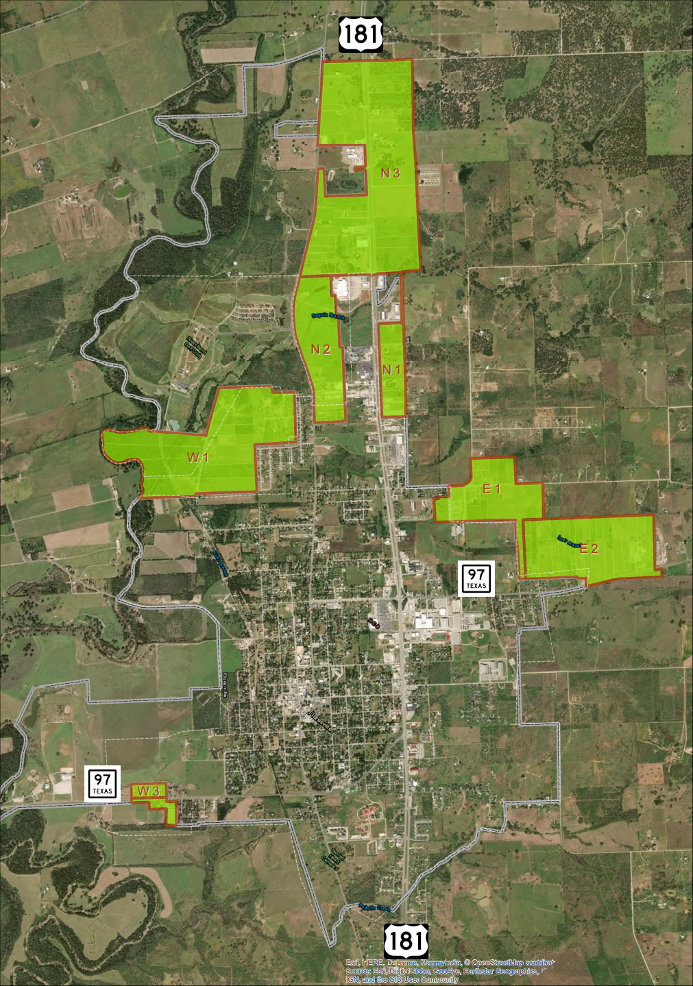2019 Municipal Annexation Plan Map Final Approved