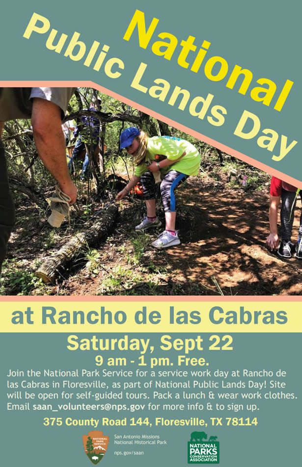 National Public Lands Day at Rancho de las Cabras