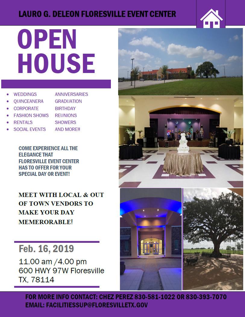 Event Center Open House