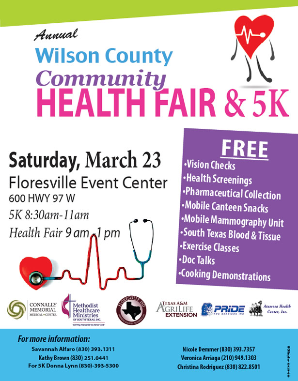 2019 Wilson County Community Health Fair & 5K