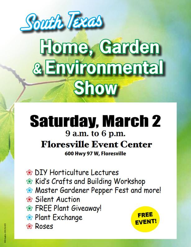 South Texas Home, Garden, & Environmental Show 2019