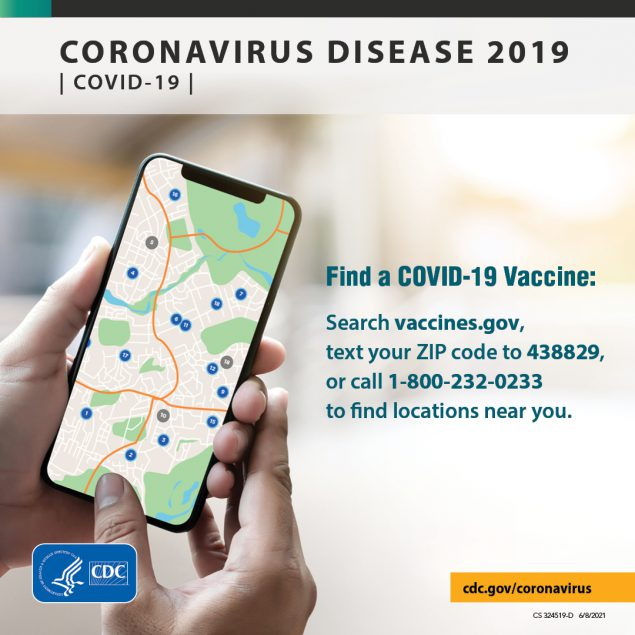 Getting a Covid-19 vaccine will help keep you from getting Covid-19